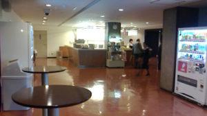NHKホール内 売店と自動販売機