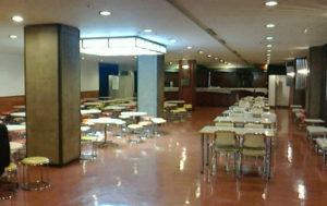1階の休憩スペース(NHKホールに入場したフロアより一つ下のフロアの奥)