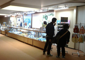 NHK関連キャラクター商品を販売する売店