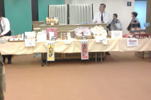 NHKホール内での土産物やスナック、お菓子などを販売する売店