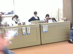 NHKホール内での弁当や軽食、飲み物などを販売する売店