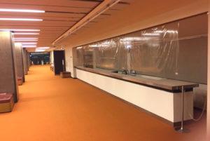 NHKホール内 売店2階ロビー