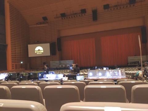 うたコン 東京国際フォーラム ホールA 1階席前方