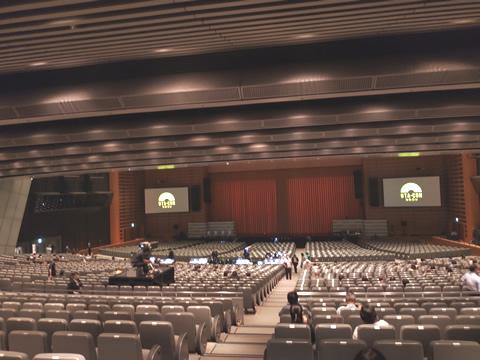 うたコン 東京国際フォーラム ホールA 1階席後方