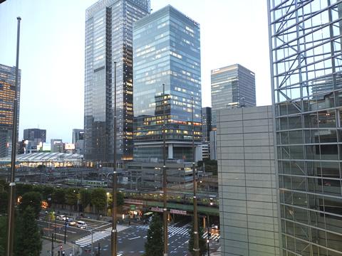 うたコン 東京国際フォーラム から東京駅方面を撮影